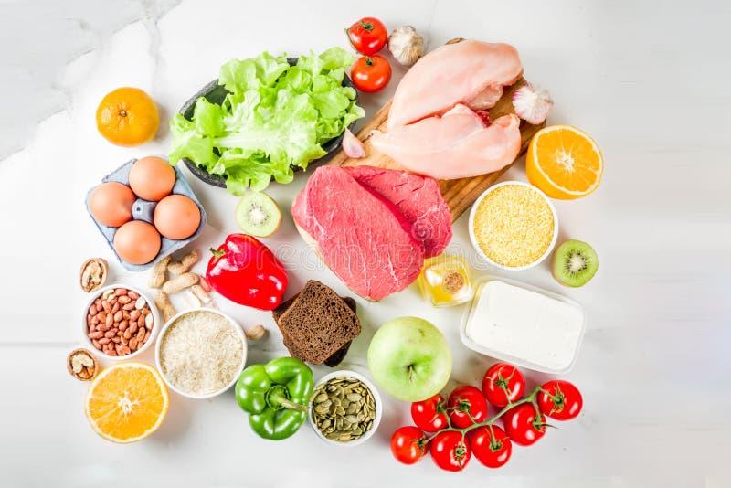 Nahrung gesunder Diät Fodmap stockfotos