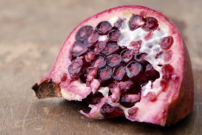 Nahrung - Granatapfel lizenzfreie stockfotografie