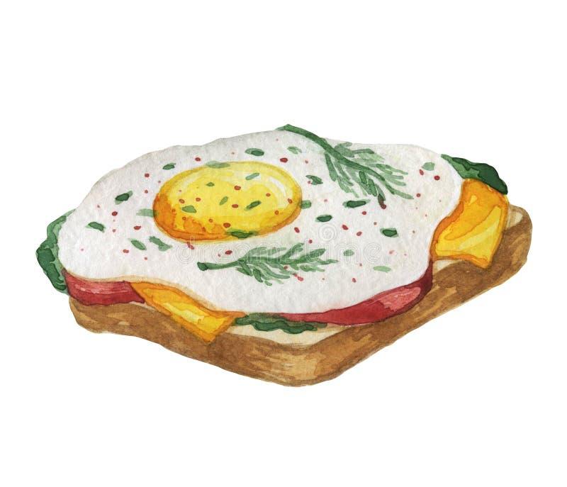 Nahrung Kulinarischer Bestandteil Tellerprodukt Restaurantmen? und -caf? vektor abbildung