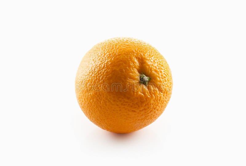 Nahrung Reife Orange auf weißem Hintergrund stockfotos