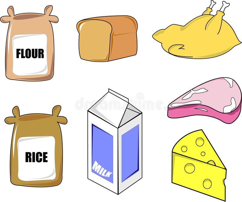 Nahrungsmittel vektor abbildung