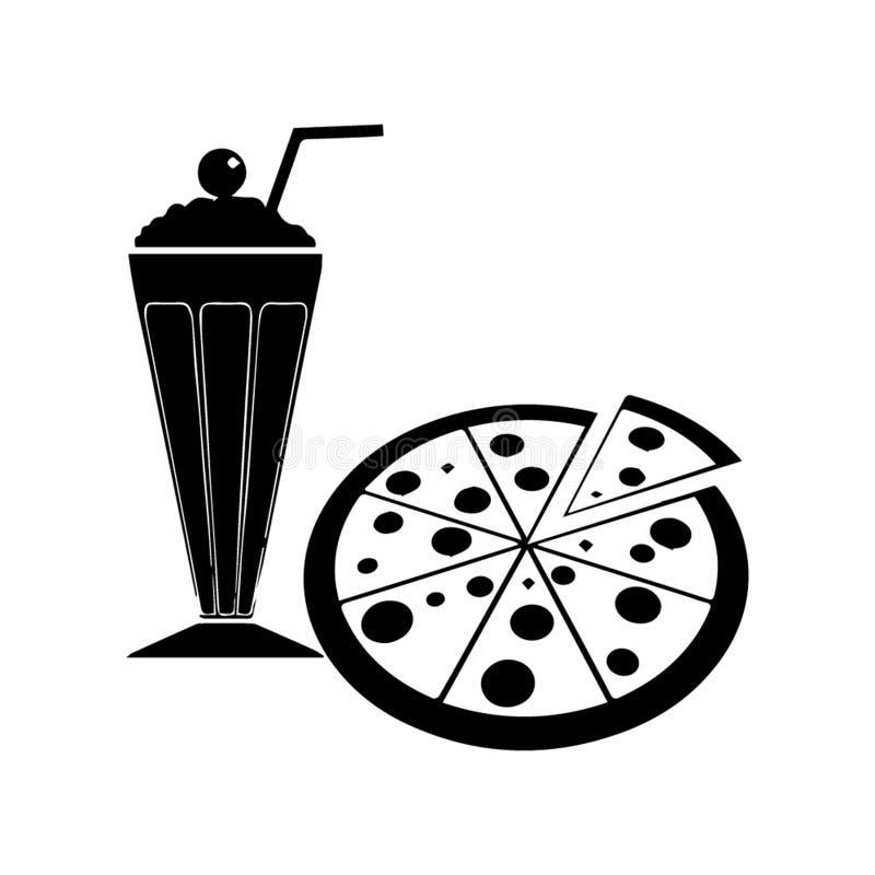 Nahrungsmittel-und Getränk-Ikonenbestes für Ihr Netz und mobilen App stock abbildung