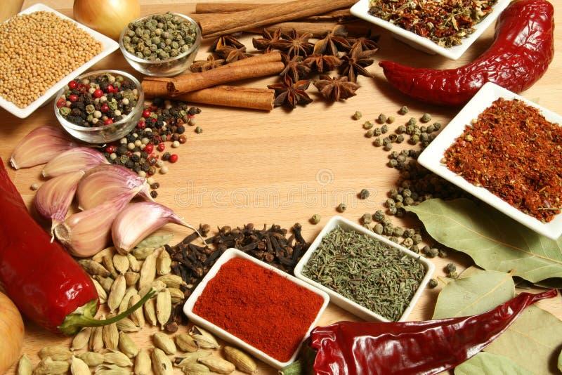 Nahrungsmittelbestandteile lizenzfreies stockfoto