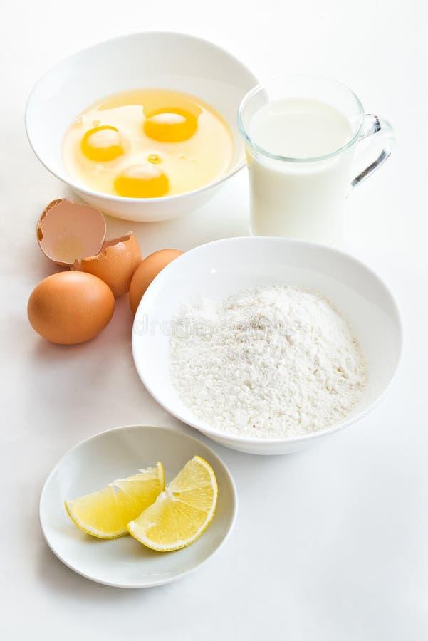 Nahrungsmittelbestandteile stockfotografie