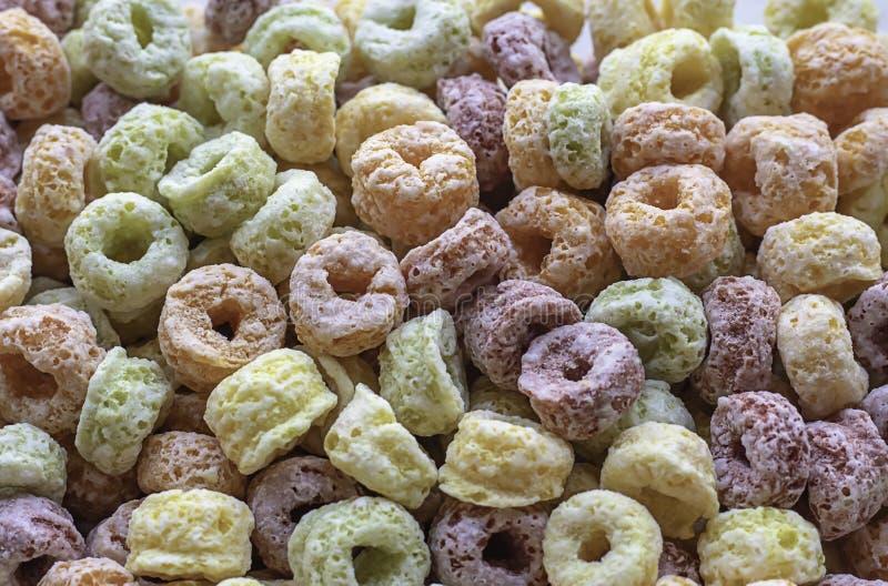 Nahrungsmittelgetreide machte von der Maisstärke eine Vielzahl von den Farben stockbild