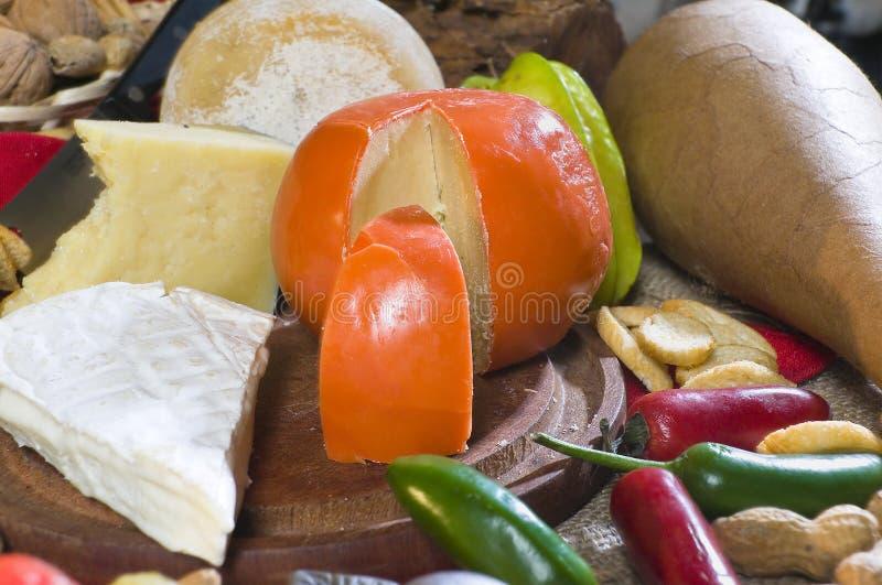 Nahrungsmitteltabelle stockfotografie