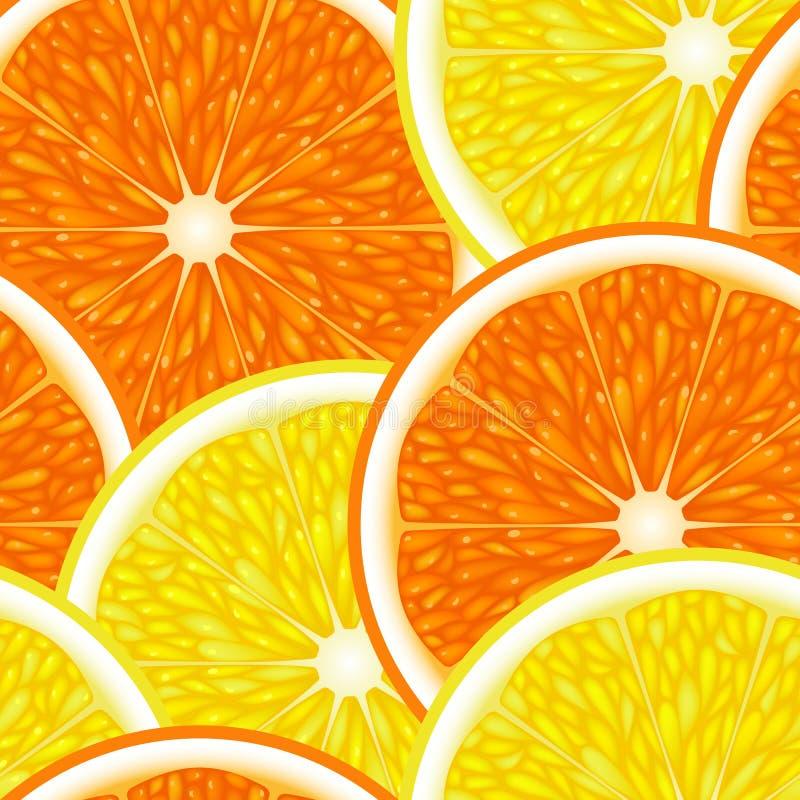Nahtlos von den Früchten vektor abbildung
