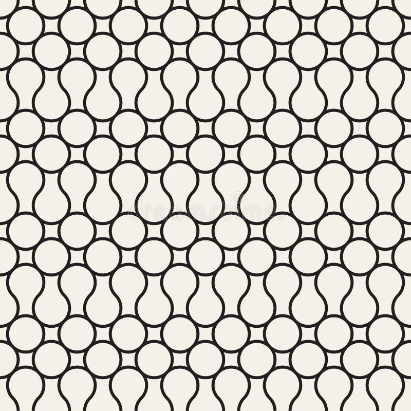 Nahtlose abstrakte Beschaffenheit für Tapeten und Hintergrund vektor abbildung