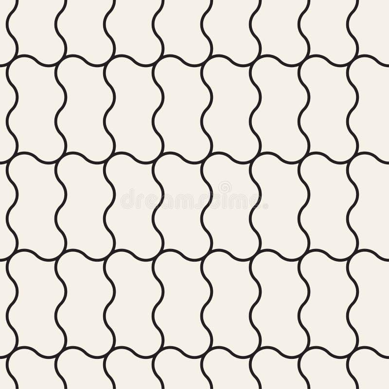 Nahtlose abstrakte Beschaffenheit für Tapeten und Hintergrund lizenzfreie abbildung