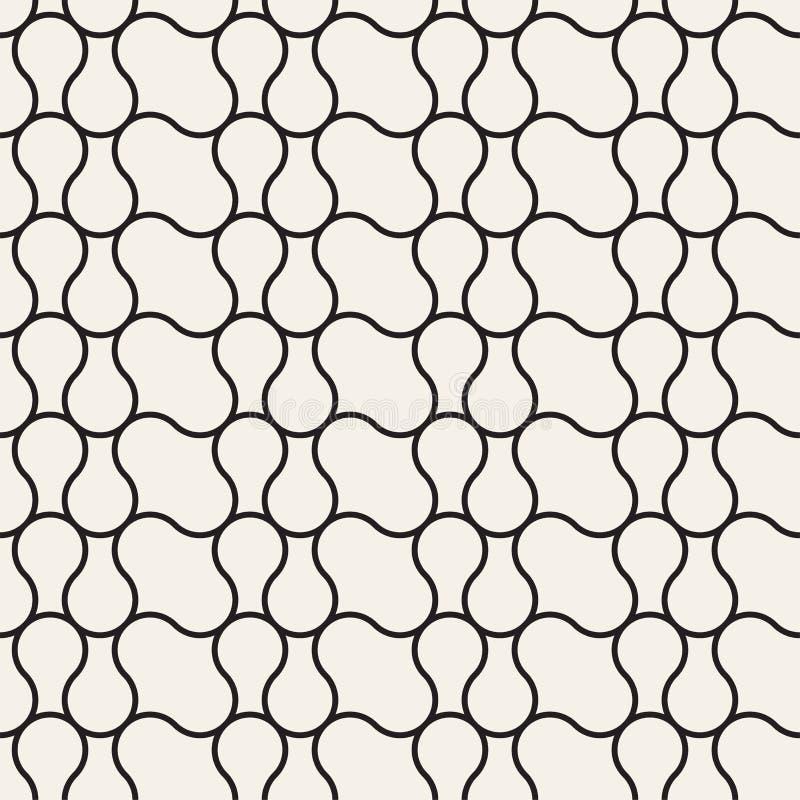 Nahtlose abstrakte Beschaffenheit für Tapeten und Hintergrund stock abbildung