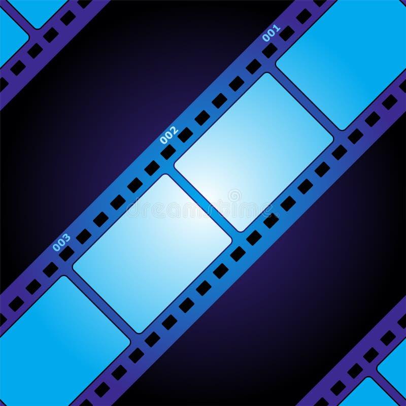 Nahtlose Beschaffenheit des Filmes lizenzfreie abbildung