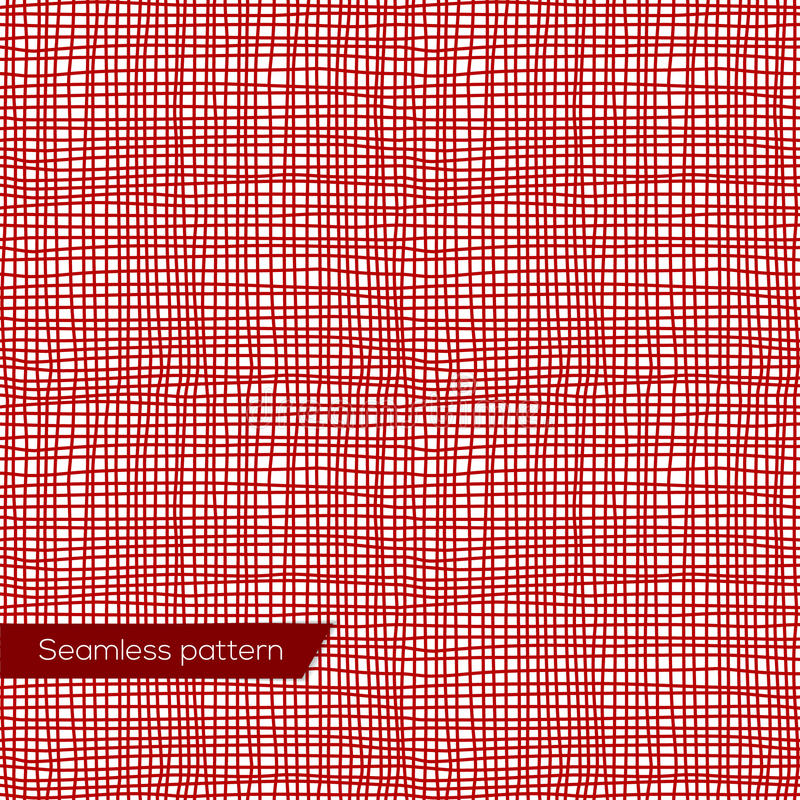 Nahtlose Beschaffenheit des roten Segeltuches lizenzfreie abbildung