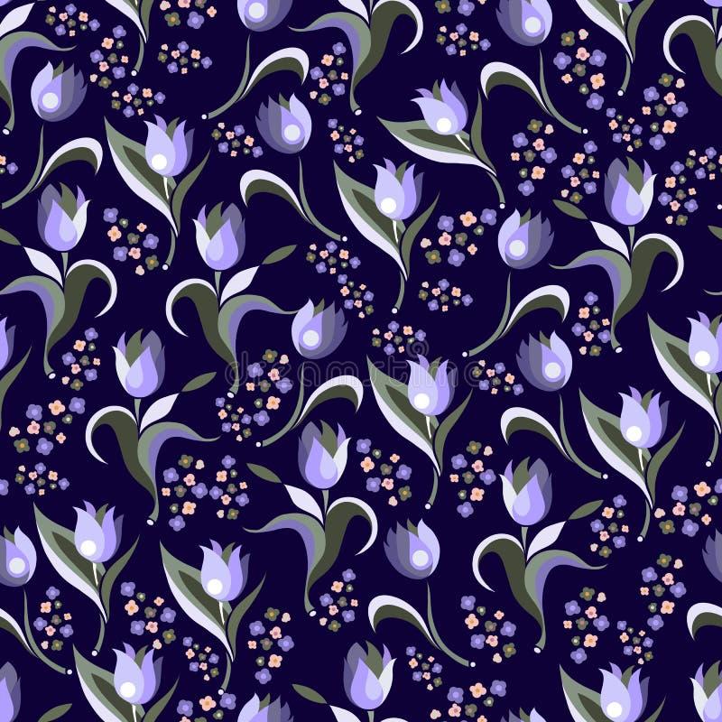 Download Nahtlose Beschaffenheit Mit Dekorativen Mustern 9 Vektor Abbildung - Illustration von blüte, hintergrund: 96928413