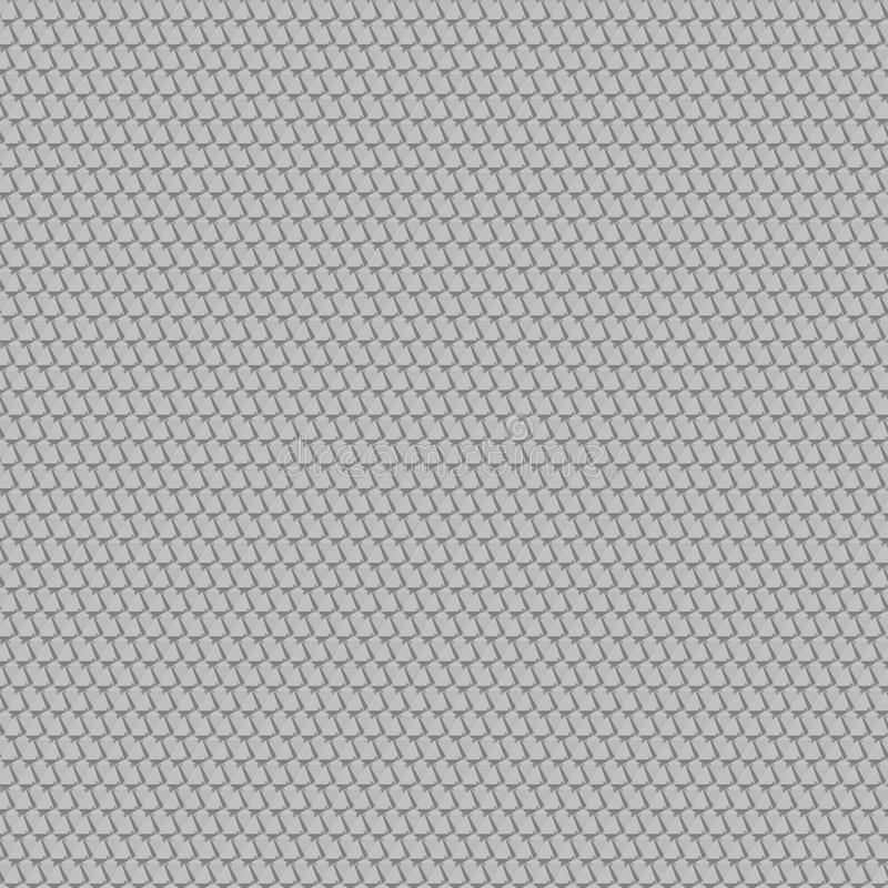 nahtlose Beschaffenheit weißes geometrisches kopiertes backgrou lizenzfreie abbildung