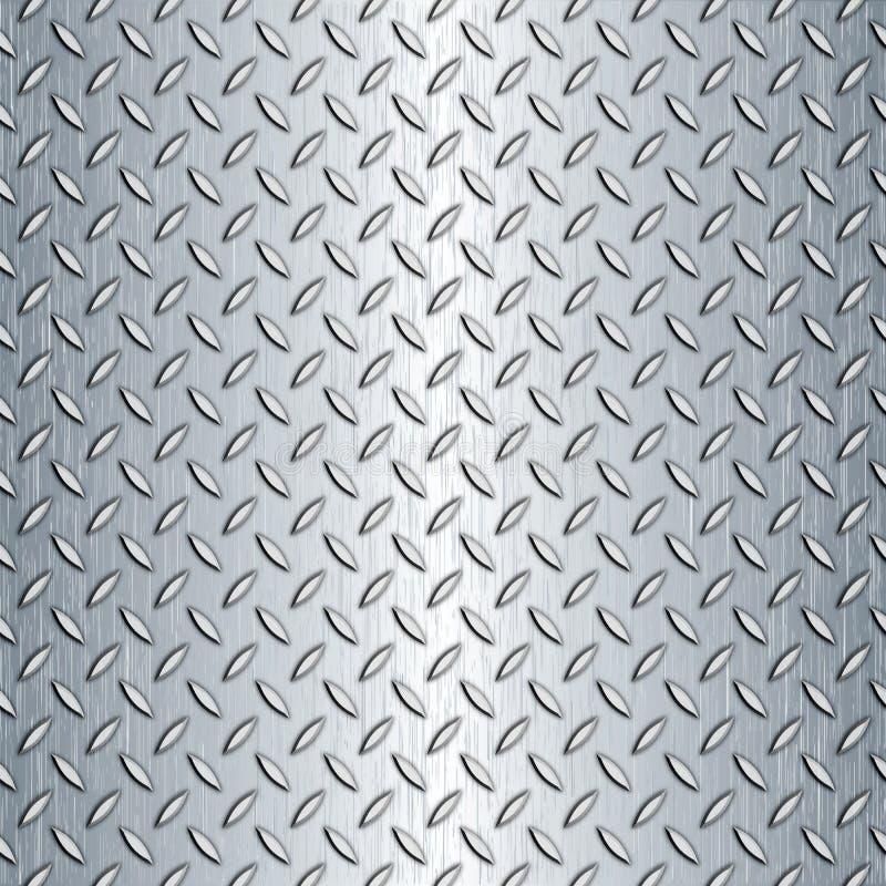 Nahtlose Diamant-Platten-Beschaffenheit lizenzfreie abbildung