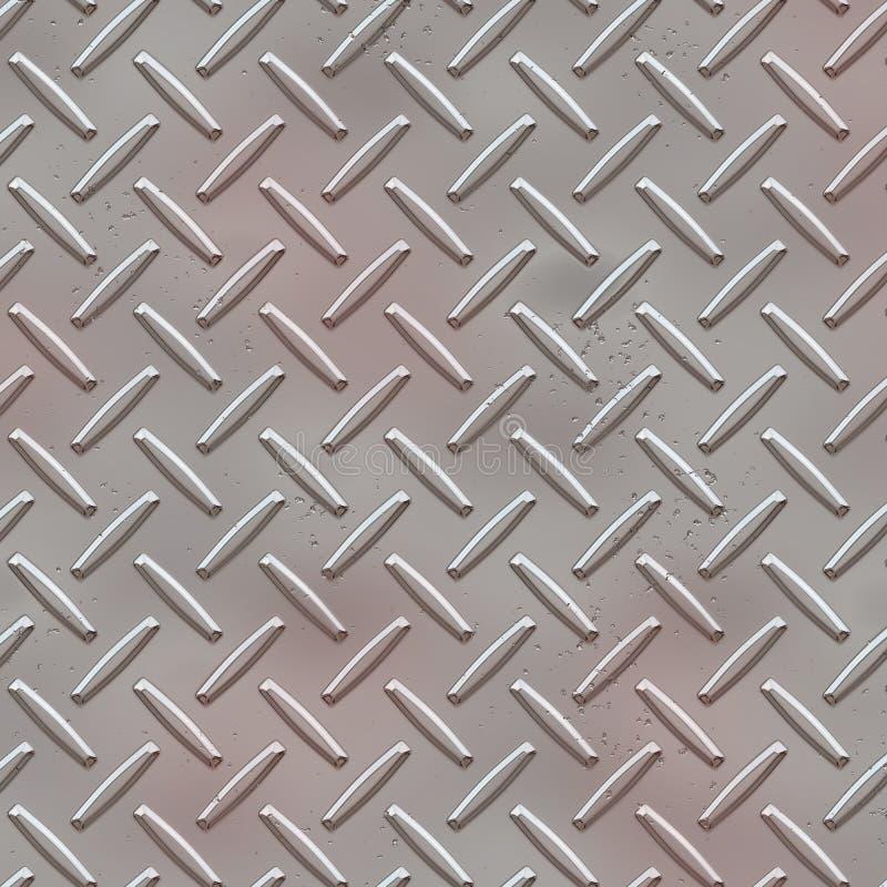 Nahtlose Diamantplattenbeschaffenheit vektor abbildung