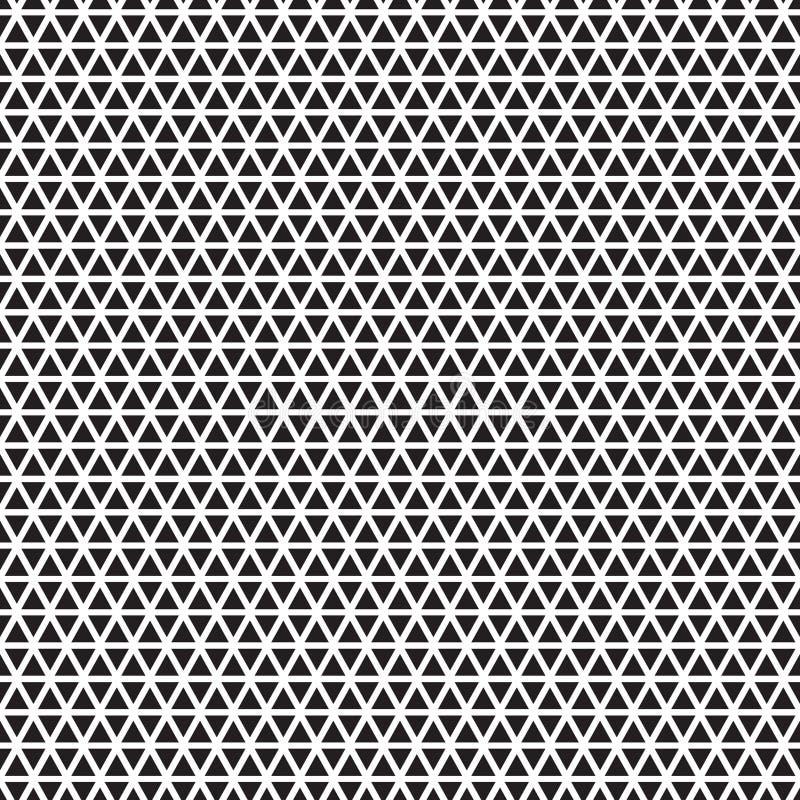 Nahtlose Dreieckmuster-Hintergrundbeschaffenheit lizenzfreie abbildung