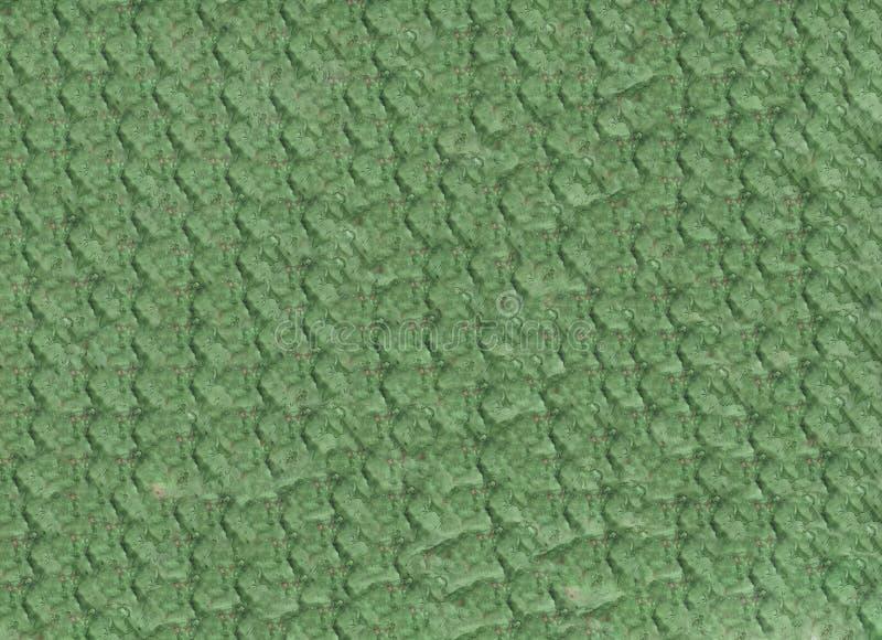 Nahtlose Endlose grüne Hand Abstraktes Wasserfarbmuster mit glorreicher Linie lizenzfreies stockbild