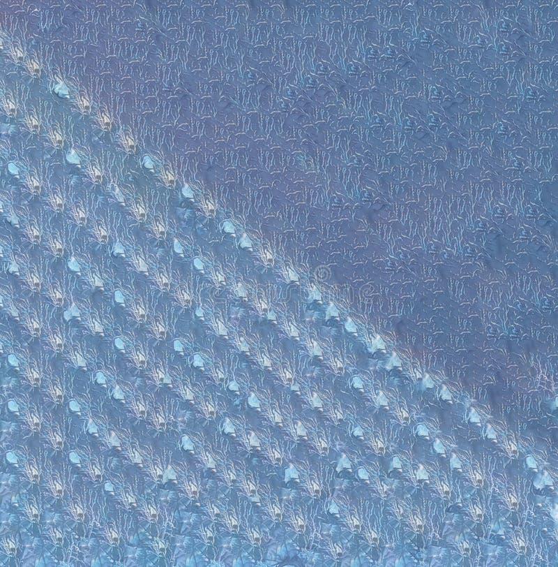 Nahtlose Endlose violette Abstrakte Wasserfarbenmuster mit glorreicher Linie lizenzfreie stockfotografie