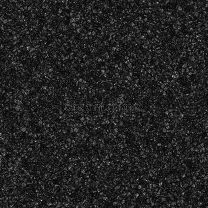 Nahtlose erzeugte Beschaffenheit der Asphaltstraße vektor abbildung