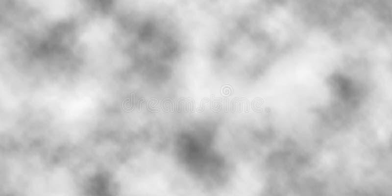 Nahtlose Fliese des Vektornebels stock abbildung