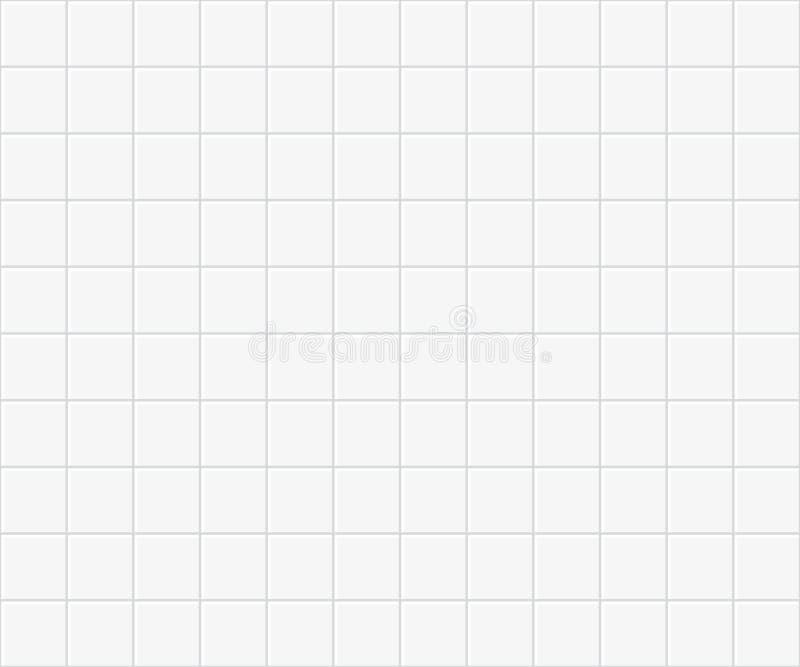 Nahtlose Fliesen, die Muster pflastern Küchen- oder Badezimmerhintergrund vektor abbildung