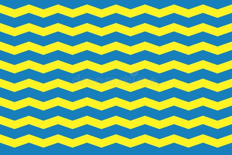 Nahtlose gewellte Linien Muster E Einfache Tapete f?r Fahne Kleidungsdesign stock abbildung