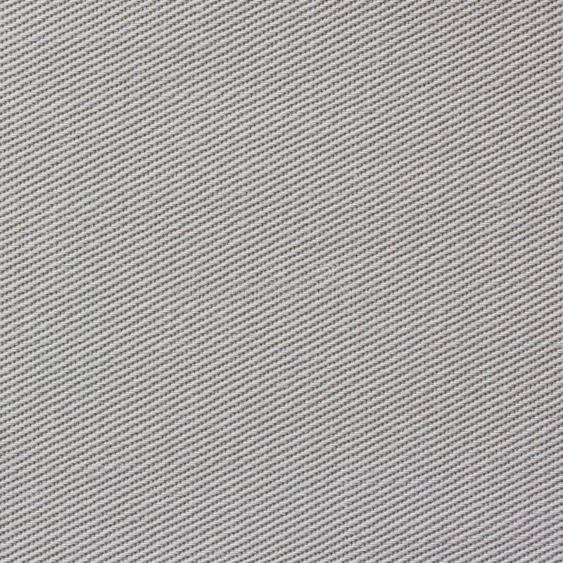 Nahtlose graue Gewebebeschaffenheit lizenzfreies stockfoto