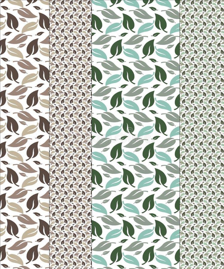 Nahtlose Herbst-Muster-Muster stockfotografie