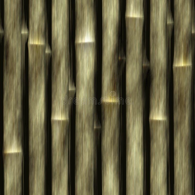 Nahtlose Hintergrund-Bambusbeschaffenheit stock abbildung