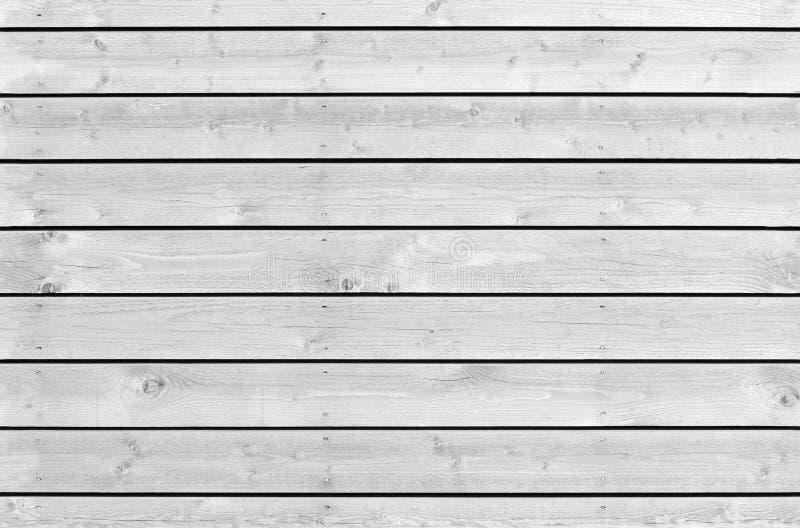 Nahtlose Hintergrundbeschaffenheit der weißen neuen hölzernen Wand stockbilder