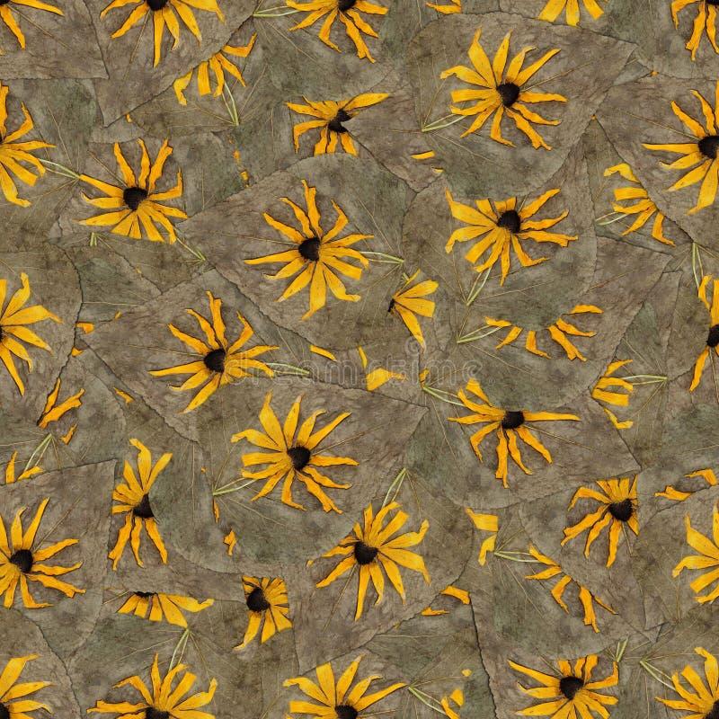 Nahtlose Hintergrundmusterbeschaffenheit von Topinambur stockbild