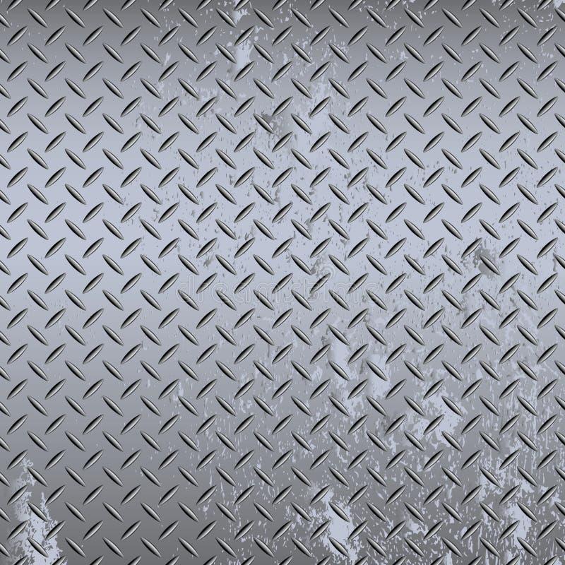 Nahtlose Industriediamantplatte stock abbildung