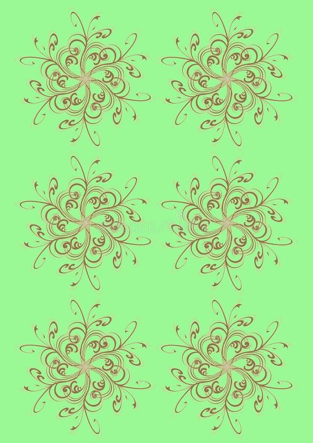 Nahtlose mit Blumenwiederholung vektor abbildung
