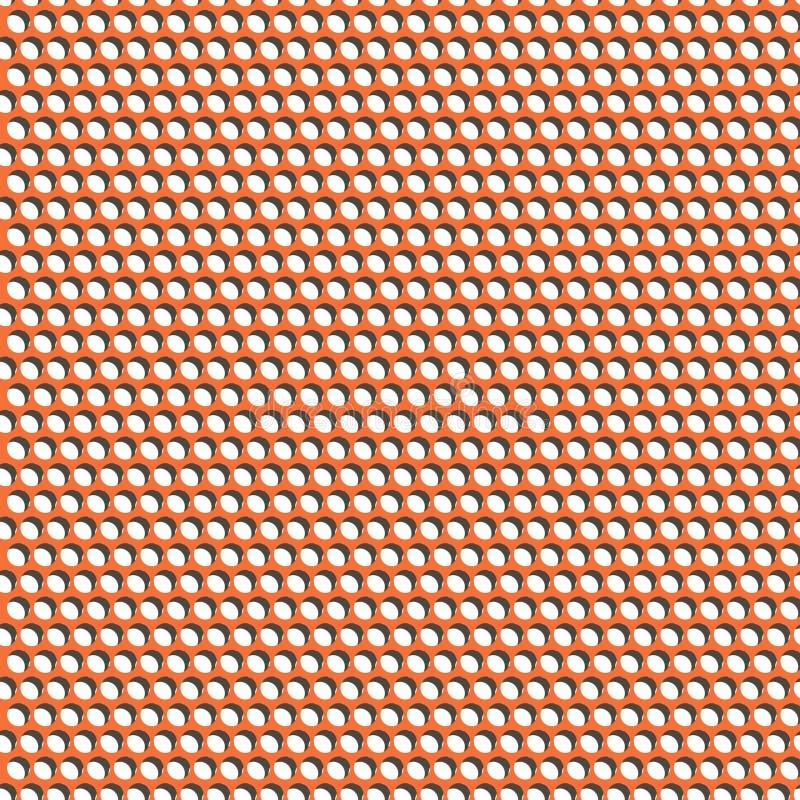 Nahtlose Muster-Löcher lizenzfreie abbildung