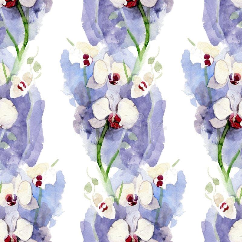 Nahtlose Muster von Blumen für Hintergrund, Textilien stockfotografie