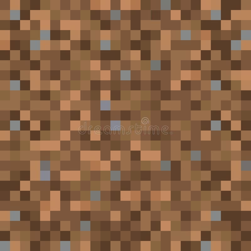 Nahtlose pixelated Schmutzbeschaffenheit, die Hintergrund für verschiedene digitale Anwendungen aufzeichnet lizenzfreie abbildung
