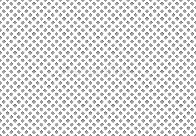 Nahtlose Polyester-Gewebebeschaffenheit Leichtathletikstoff-Gittermaterial, Nylonmaschensportkleidungstextilvektormuster stock abbildung