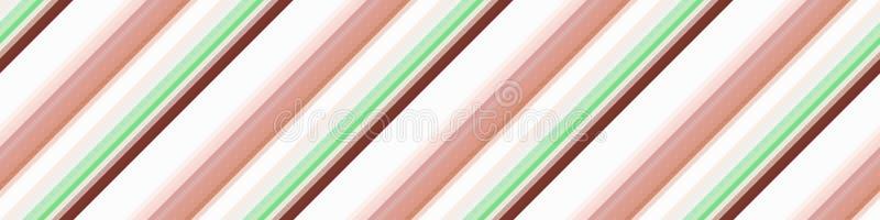 Nahtlose Schrägstreifenhintergrundzusammenfassung, Schablonenillustration vektor abbildung