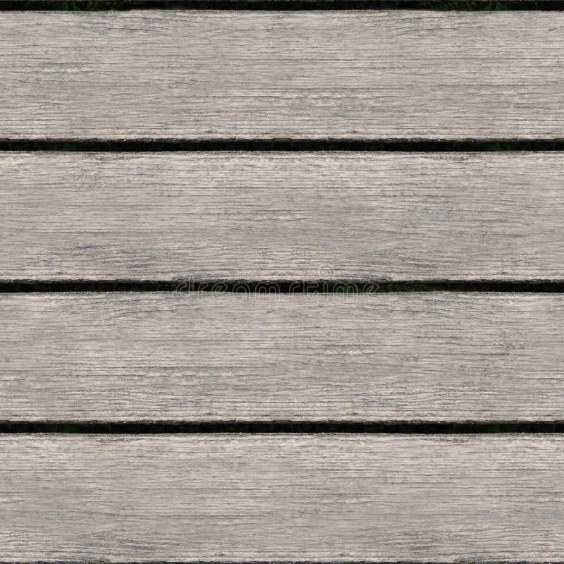 Nahtlose Textur von Holzplanken stockbild