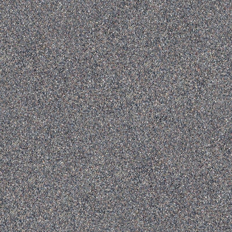 Nahtlose Textur von schwarzem vulkanischem Sand stockfotos