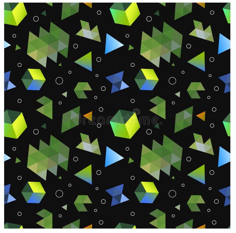 Nahtlose ursprüngliche geometrische Muster des Minimalismus lizenzfreie stockbilder