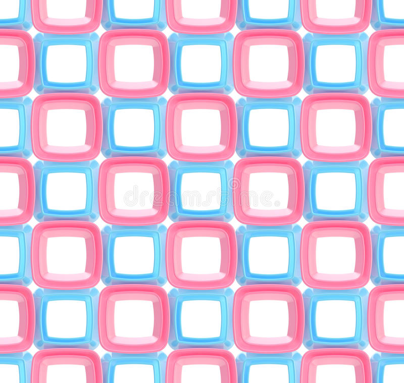 Nahtloser abstrakter geometrischer Hintergrund vektor abbildung