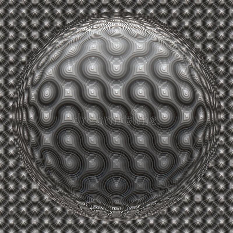 Nahtloser abstrakter Hintergrund lizenzfreie abbildung