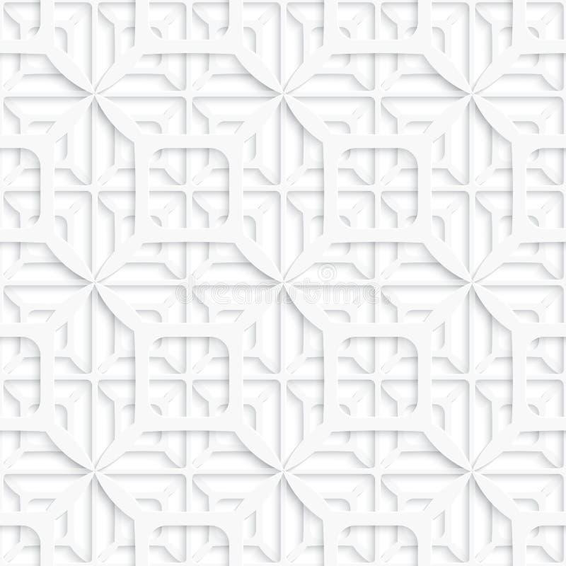 Nahtloser ausführlicher Schichthintergrund vektor abbildung