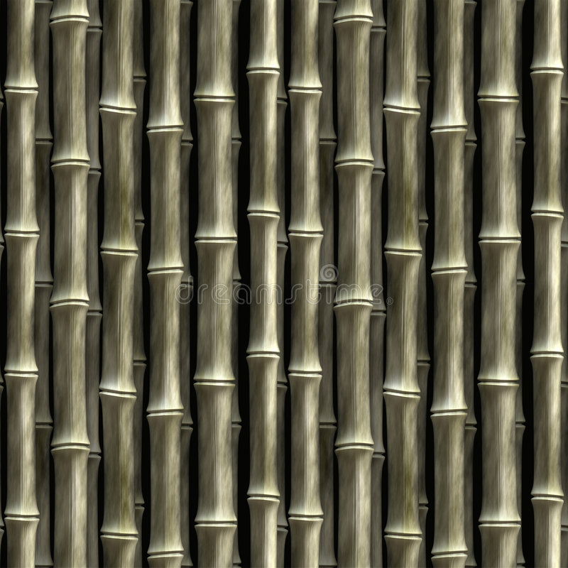 Nahtloser Bambus vektor abbildung