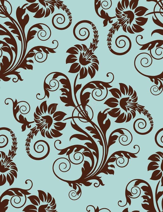 Nahtloser Blumenhintergrund. vektor abbildung