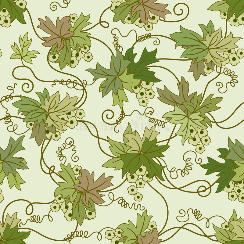 Nahtloser Blumenhintergrund. stock abbildung