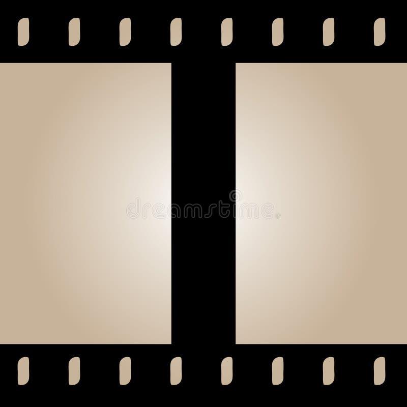 Nahtloser Film-Streifen-Vektor vektor abbildung