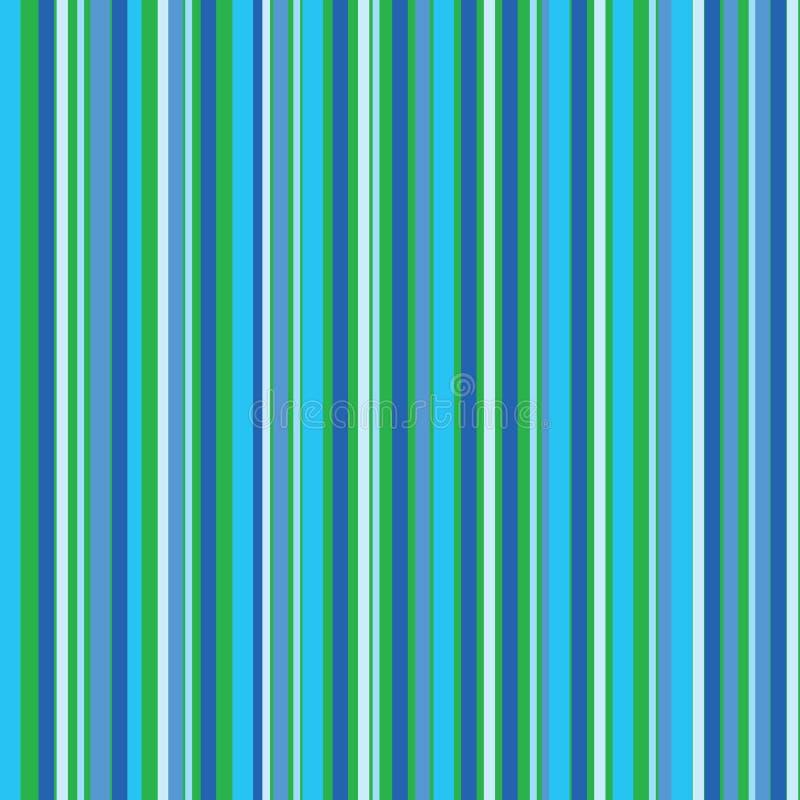 Nahtloser gestreifter abstrakter Hintergrund stock abbildung